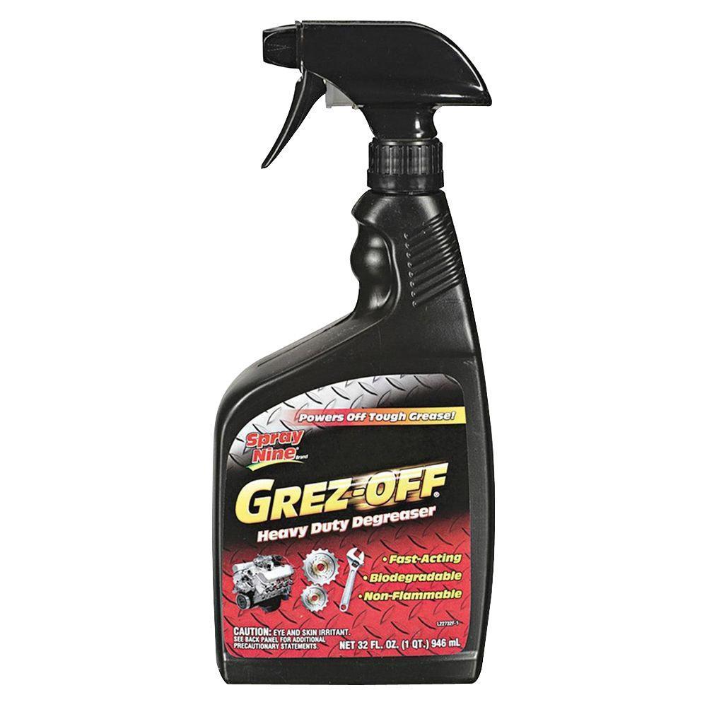 32 oz. Permatex Grez-Off Heavy Duty Degreaser