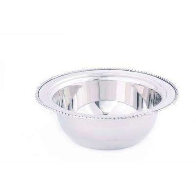 3 qt. Round Stainless Steel Food Pan for #681