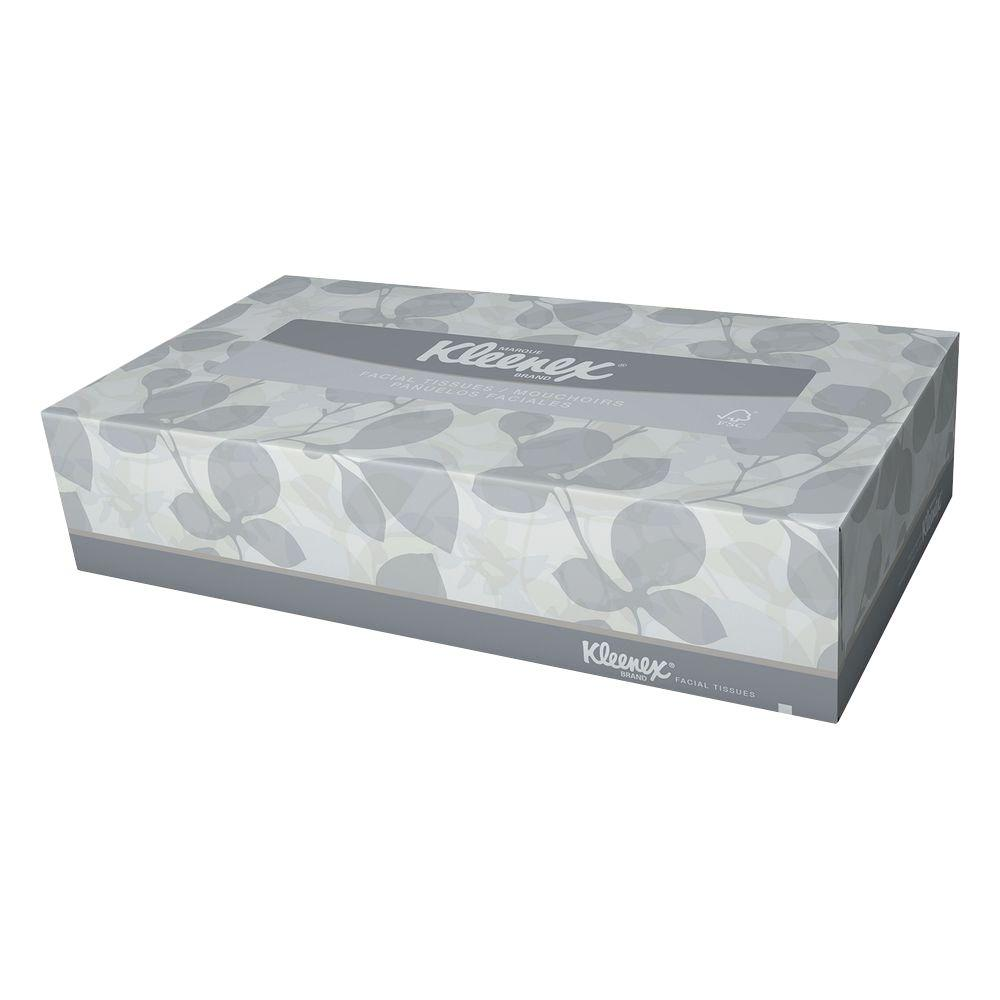 Kleenex Facial Tissue 2-Ply (125-Count)