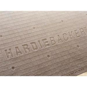 James Hardie Hardiebacker 3 Ft X 5 Ft X 1 4 In Cement