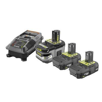 18-Volt ONE+ Lithium-Ion Lithium+ HP 6.0 Ah Starter Kitwith 18-Volt ONE+ 2.0 Ah Lithium-Ion Compact Battery (2-Pack)