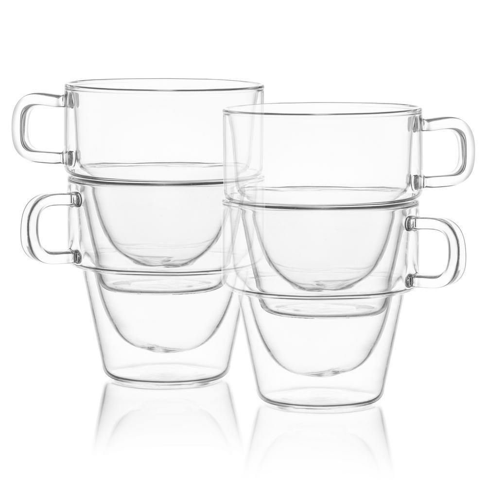 Stoiva 5 oz Insulated Glasses, Set of 4