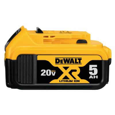 20-Volt MAX XR Premium Lithium-Ion (1) 5.0Ah Battery