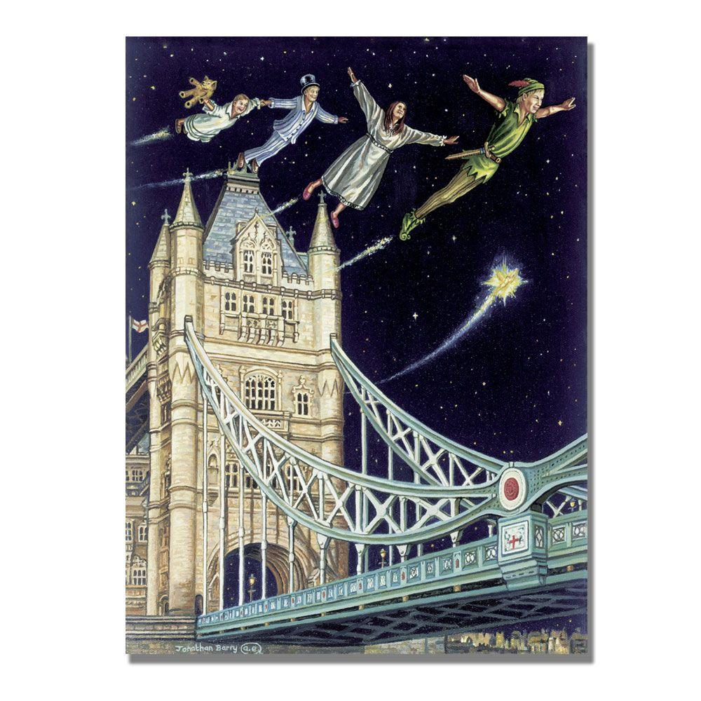 Trademark Fine Art 24 in. x 32 in. Come Fly Away, 2004 Canvas Art-DISCONTINUED