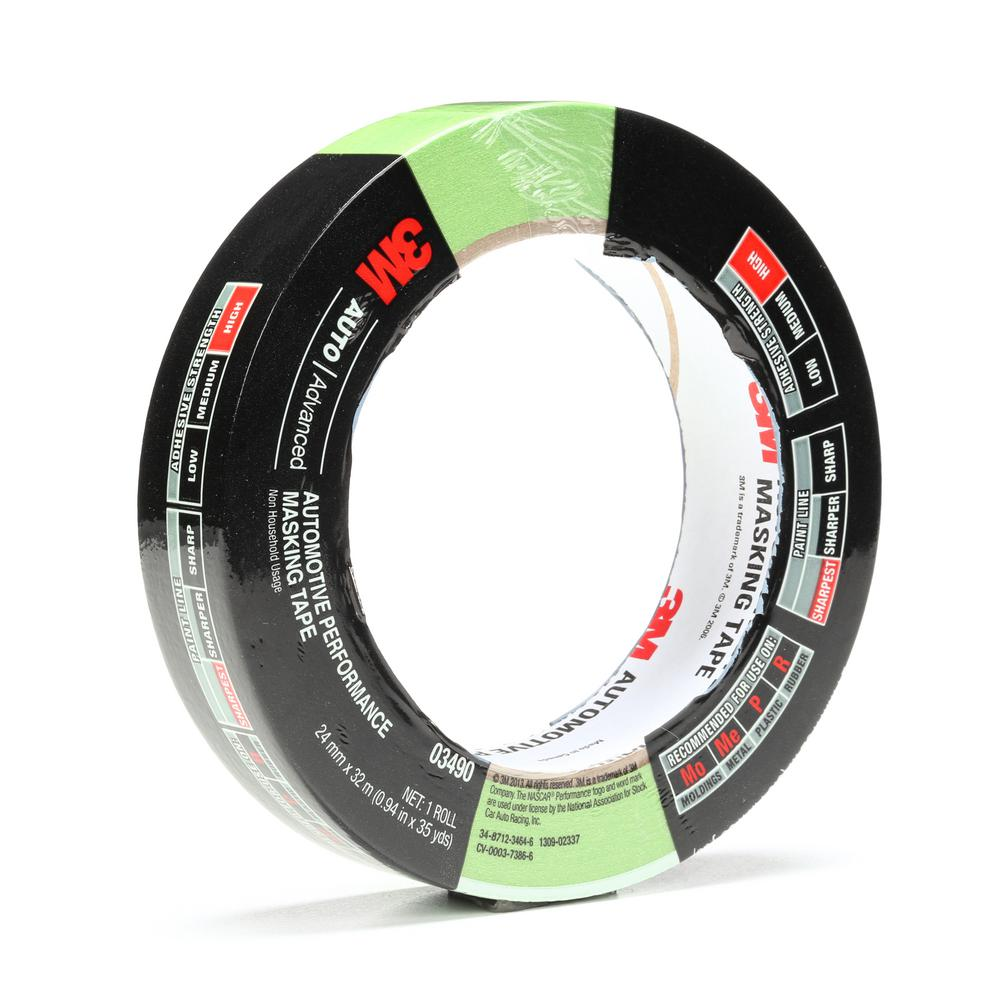 3m 0 94 In X 26 2 Yds Automotive Performance Masking Tape