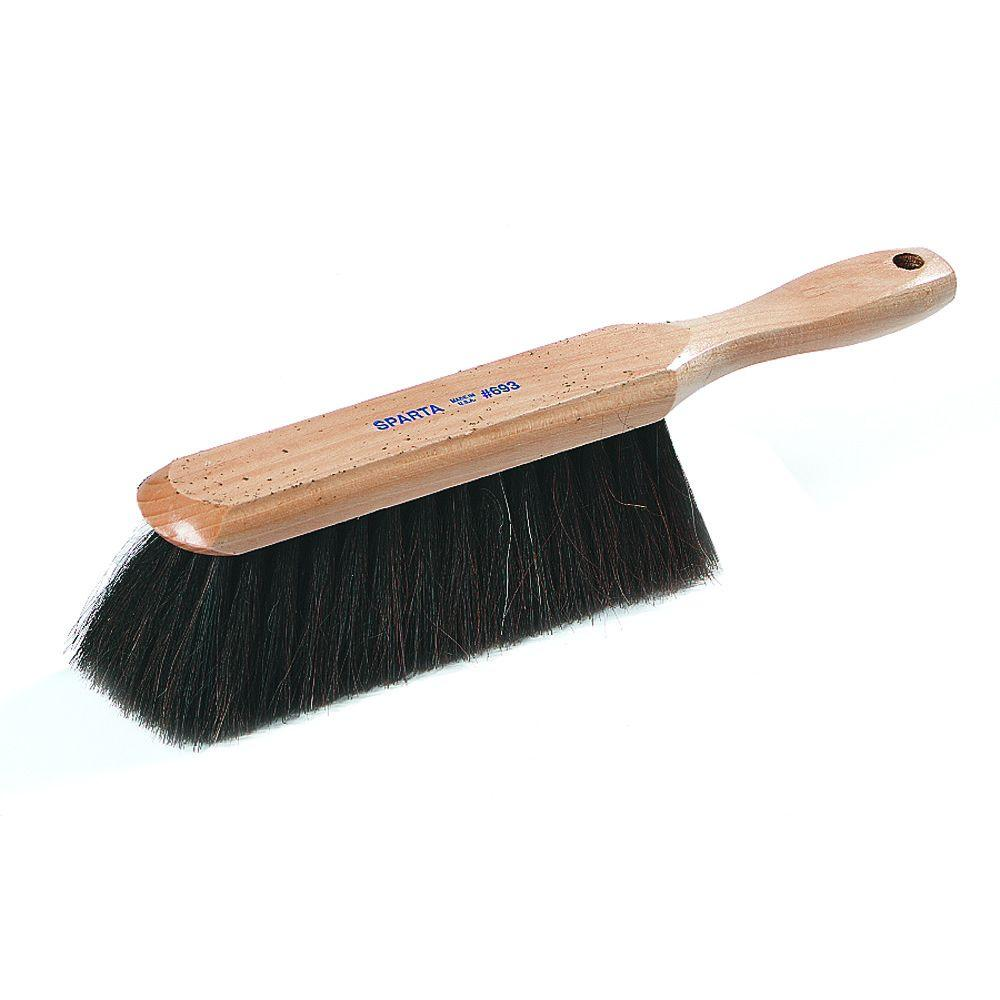 8 in. Horsehair Blend Counter/ Bench Brush, 13 in. Overall Length