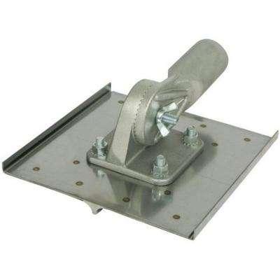 10 in. x 10 in. 1/2 R Stainless Steel Walking Groover