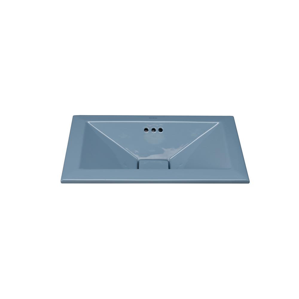 American Standard Aqualyn Self-Rimming Bathroom Sink in Linen ...