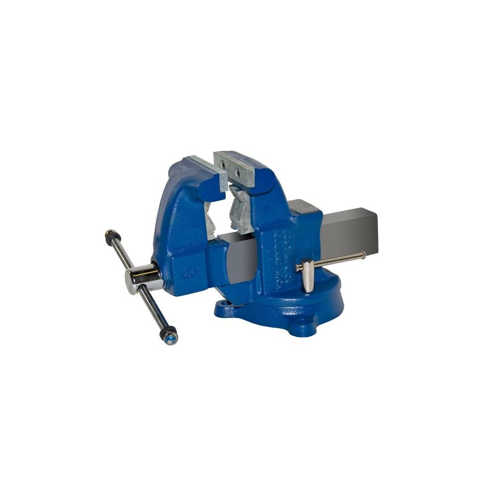 4-1/2 in. Medium Duty Tradesman Combination Pipe and Bench Vise -