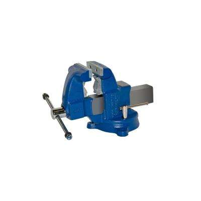 4-1/2 in. Medium Duty Tradesman Combination Pipe and Bench Vise - Swivel Base
