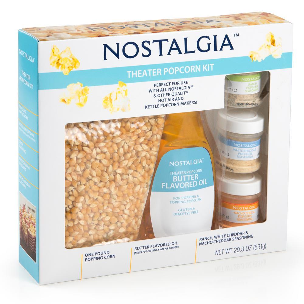 Nostalgia Theater Popcorn Kit