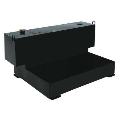Delta Short-Bed L-Shaped Steel Liquid Transfer Tank in Black