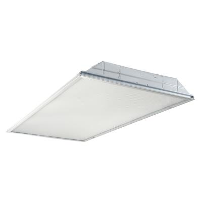 2 ft. x 4 ft. White Integrated LED Troffer Light with 4800 Lumens, 4000K, 0-10-Volt Dimming Driver