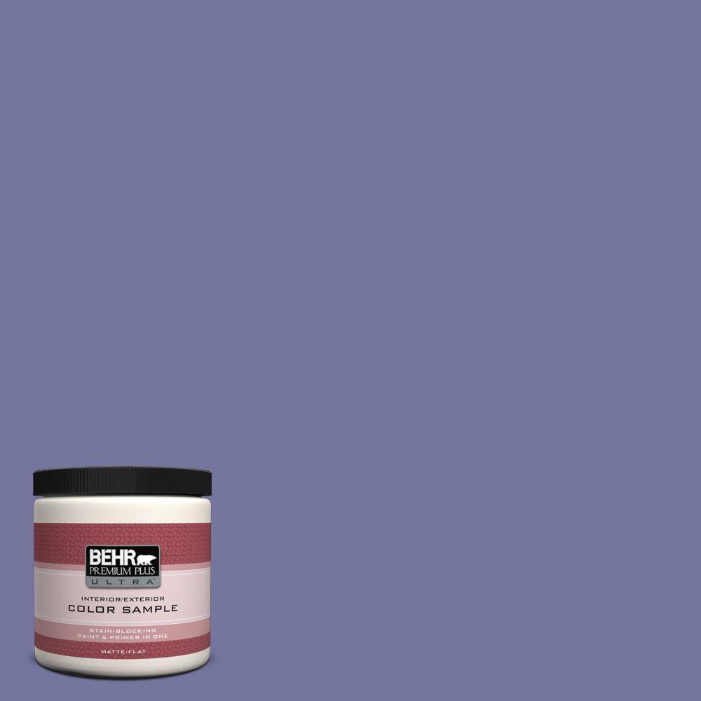 BEHR Premium Plus Ultra 8 oz. #M550-6 Kimono Violet Interior/Exterior Paint Sample