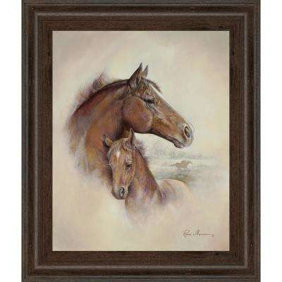 "22 in. x 26 in. ""Race Horse II"" by Ruane Manning Framed Printed Wall Art"