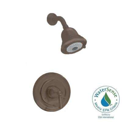 Portsmouth 1-Handle Shower Faucet Trim Kit in Oil-Rubbed Bronze