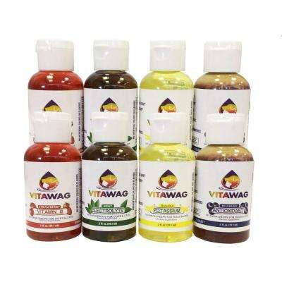 All Natural Super Concentrated Dog and Cat Liquid Supplements, 8 Assorted Pack
