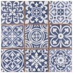 Faenza Azul 13 in. x 13 in. Ceramic Floor and Wall Tile (12.2 sq. ft. /Case)