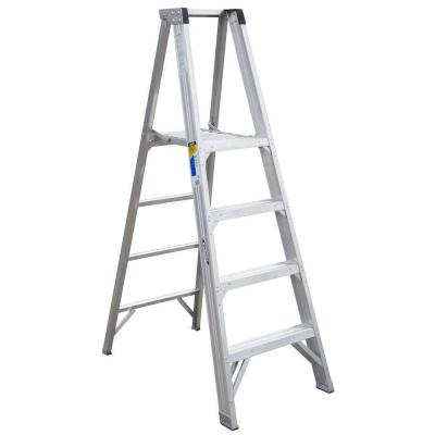 10 ft. Reach Aluminum Platform Step Ladder with 375 lb. Load Capacity Type IAA Duty Rating