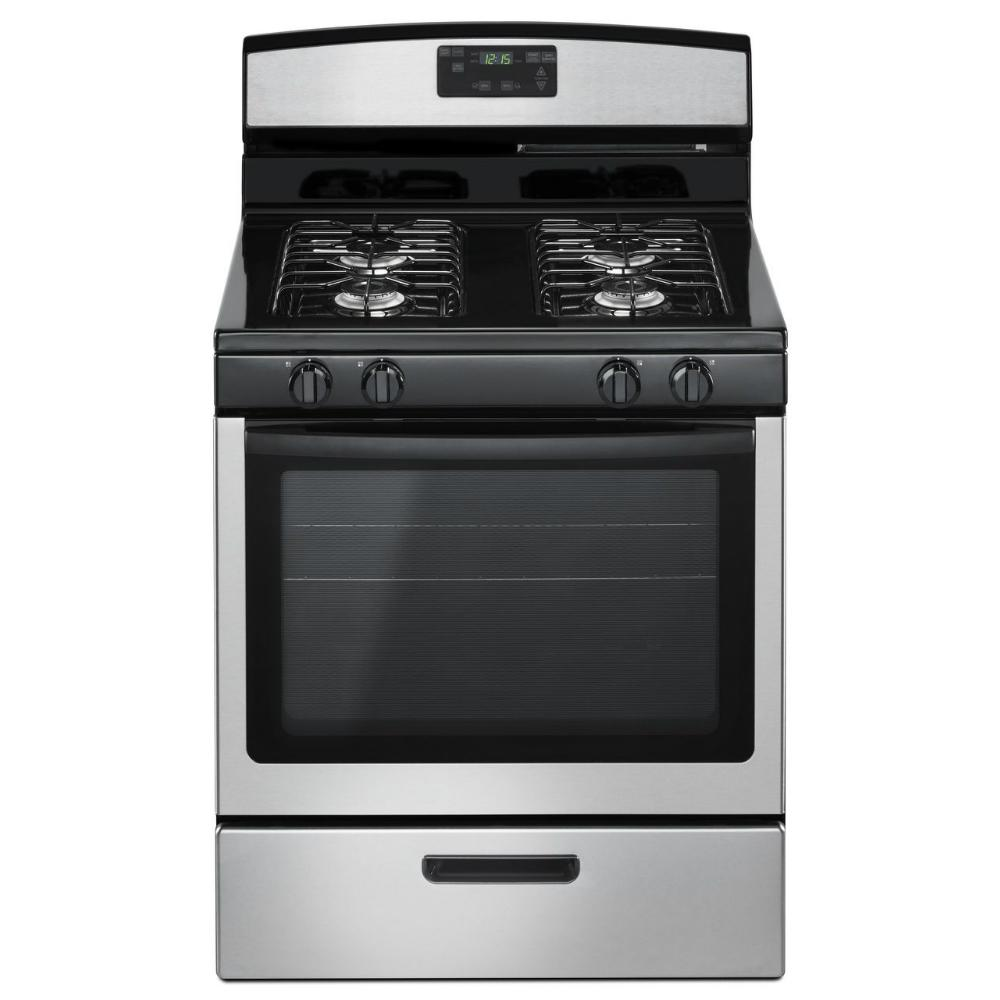 Amana 5.1 Cu. Ft. Gas Range In Stainless Steel-AGR5330BAS