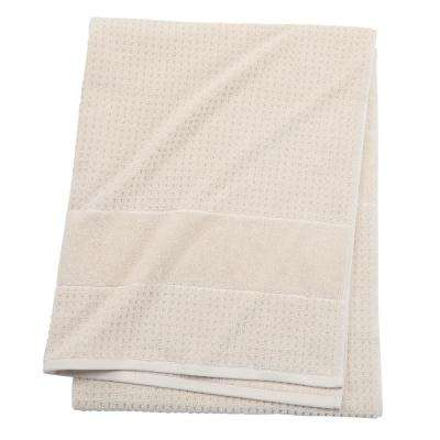 Fairhope 1-Piece Turkish Bath Sheet in Latte