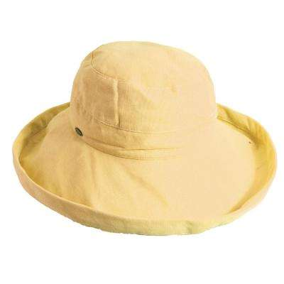 Med Brim Cotton Hat