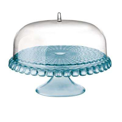 Tiffany Dome Sea Blue Cake Stand
