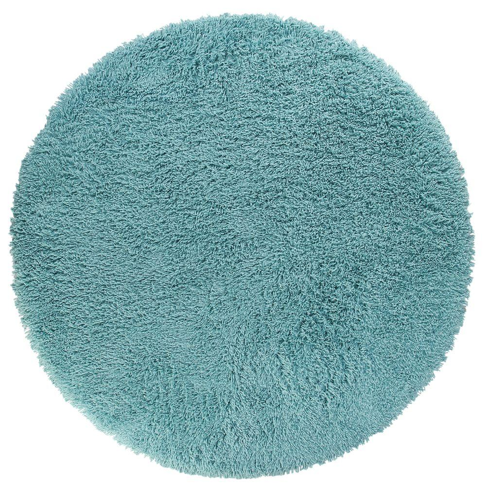 Home Decorators Collection Ultimate Turquoise 8 Ft Round Area Rug