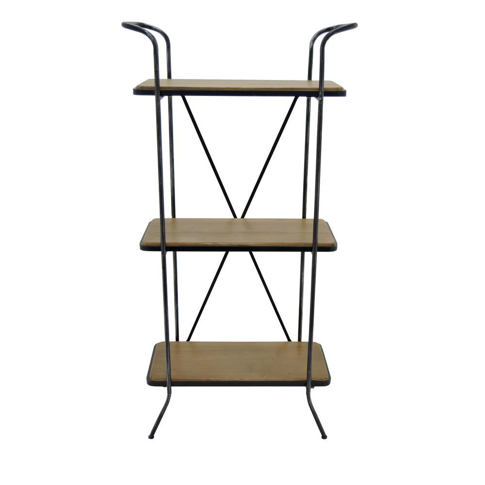 Brown Wood Shelf