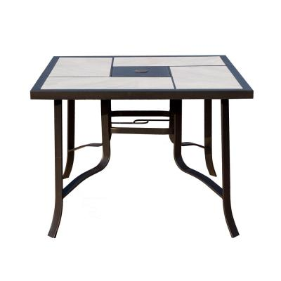 Ceramic Tabletop Patio Dining Tables Patio Tables The Home Depot