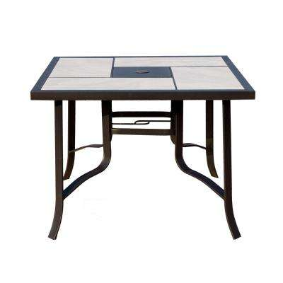 Metal Outdoor Dining Table