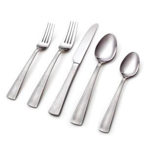 Click here to buy Hampton Forge Princeton 20-Piece 18/0 Stainless Steel Flatware Set by Hampton Forge.