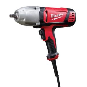 Milwaukee 1/2 inch Square Drive Impact Wrench with Rocker Switch and Friction Ring Socket Retention by Milwaukee
