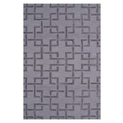 Shimmer Gray 3 ft. x 5 ft. Indoor Area Rug