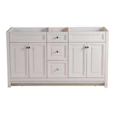 Brinkhill 60 in. W x 34 in. H x 22 in. D Bathroom Vanity Cabinet in Cream