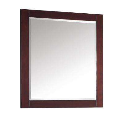 Modero 28 in. W x 32 in. L Freestanding Mirror in Espresso