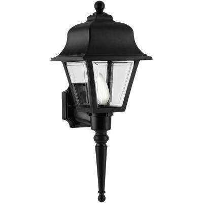 Liberty Black Outdoor Wall-Mount Lantern