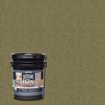 4 gal. 10X Advanced Sage Deck and Concrete Resurfacer