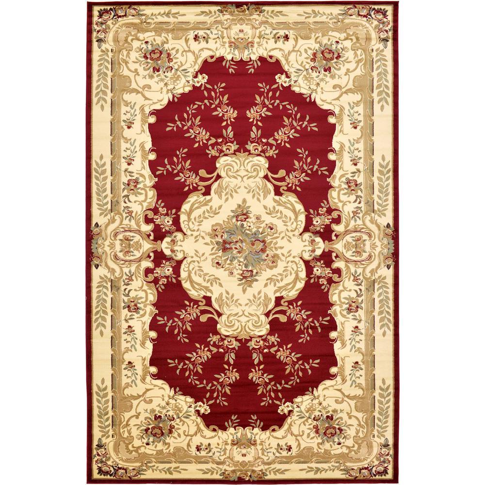 "Versailles Red 10'6"" x 16'5"" Rug"