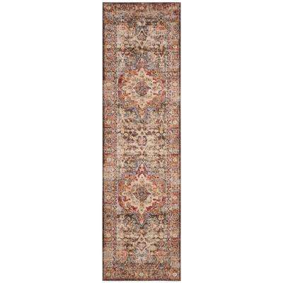 Bijar Brown/Rust 2 ft. x 6 ft. Runner