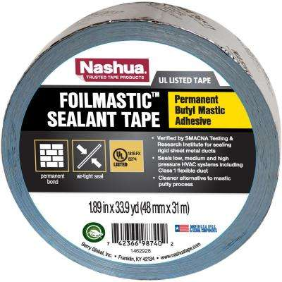 1.89 in. x 33.9 yd. Foil Mastic Sealant Tape