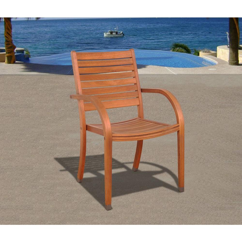 Arizona Stacking Patio Armchair (4-Set)