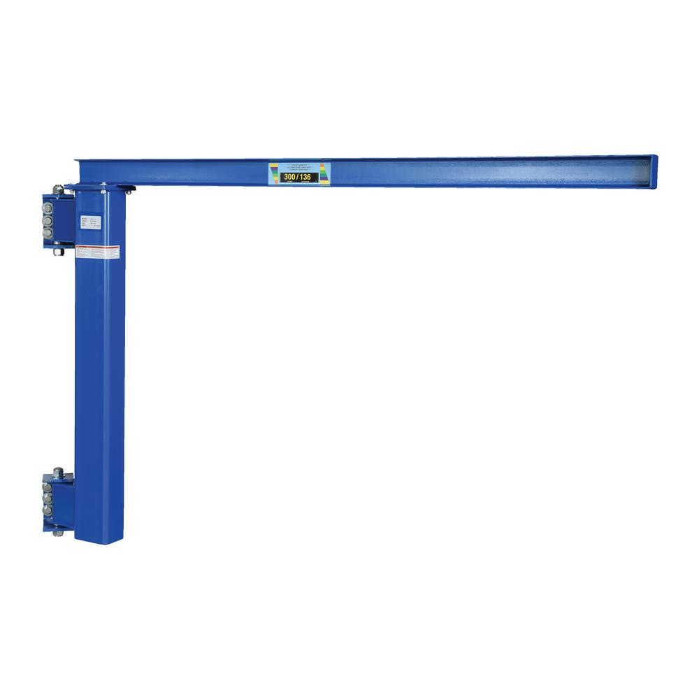 300 lb. Capacity Wall Mounted Jib Low Clearance