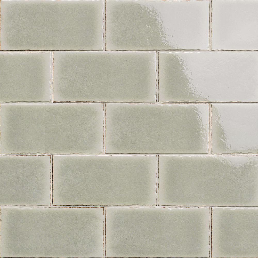 Winston Sage 6 in. x 12 in. Glazed Wall Porcelain Tile (22-Piece, 10.76 sq. ft./Case)