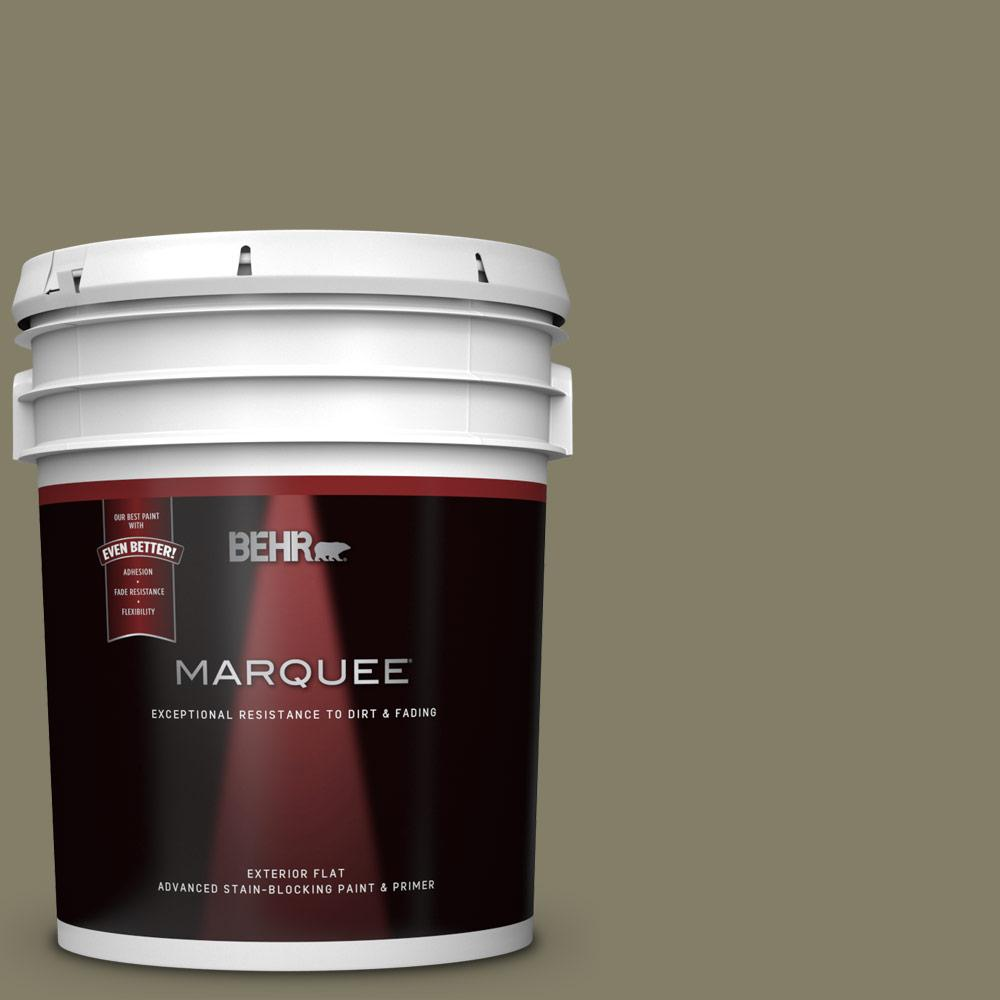 Behr Marquee 1 Gal Pmd 75 Autumn Gourd Flat Exterior Paint And Primer In One 445401 The Home Depot