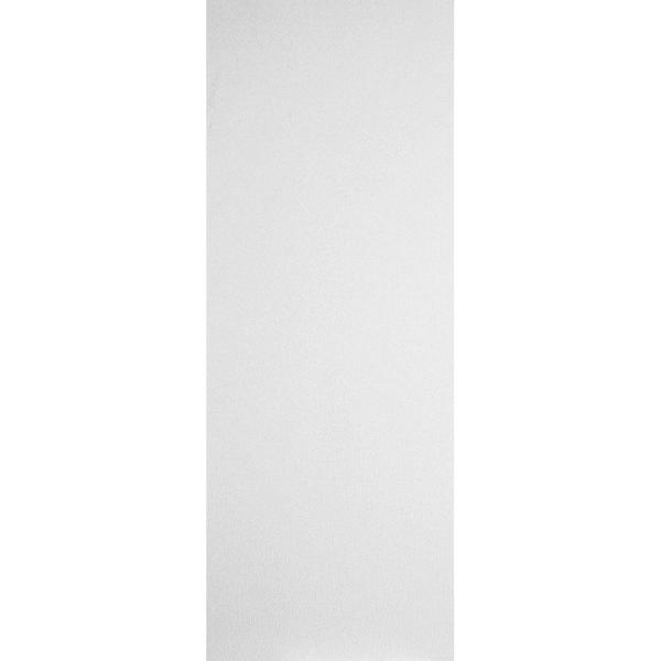 30 in. x 80 in. Primed White Smooth Flush Hardboard Hollow Core Composite Interior Door Slab