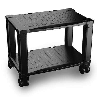 2-Tier Printer Stand with Wheels