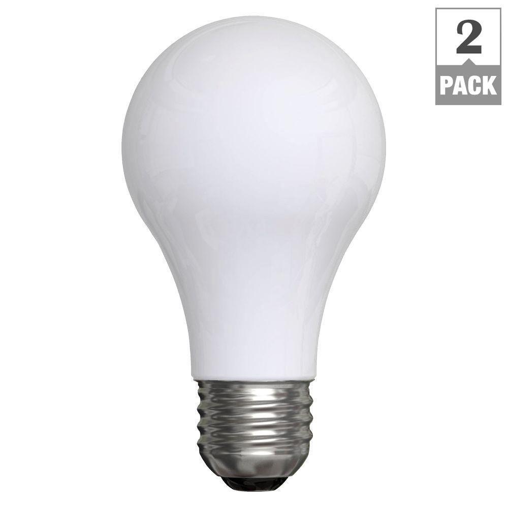 50-100-150-Watt Incandescent A21 3-Way Soft White Light Bulb (2-Pack)