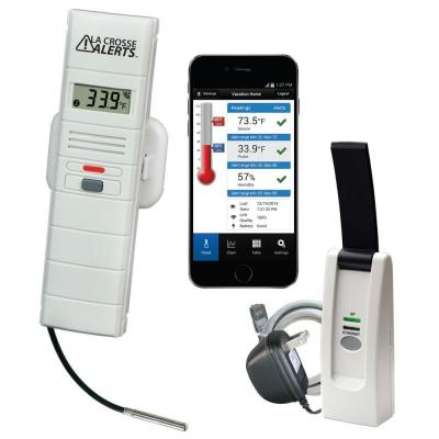 Wireless Temperature and Humidity Monitor System Set with Wet Probe
