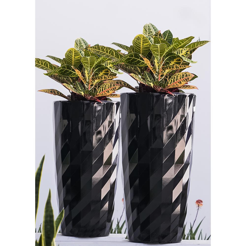 Brand Xbrand 30 In Tall Black Plastic